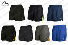 """MORE MILE MENS 5 INCH ACTIVE RUNNING JOGGING FITNESS GYM SHORTS 5"""" S M L XL XXL"""