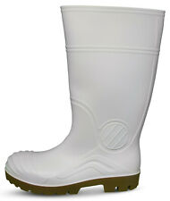 Traxium White Mens All Purpose Non-Safety Gumboots - Brand New