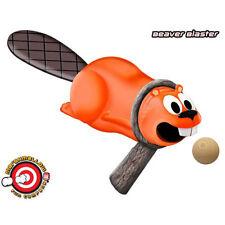 Beaver Blaster Marshmallow Toy Gun Shooter Shoots Mallows Foam Balls