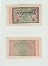 20.000 Mark 1923 K-MV Deutsches Reich - Reichsbanknote - 0342