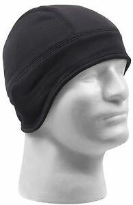 Rothco Arctic Fleece Tactical Cap - Helmet Liner - Black or Brown Winter Ski Hat