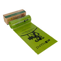 Ecohound 300 Green Dog Poo Bags Oxo Biodegradable | Dispenser Roll Waste Bags