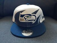 Seattle Seahawks New Era Snapback Hat/Cap Shark Tooth Style NWT