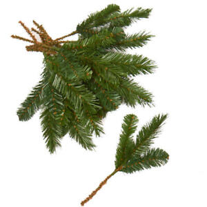 Christmas Artificial Pine Greenery Picks