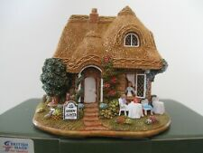 """Lilliput Lane L2543 """"The Giddy Aunts Tearoom"""" Mint in box with deed."""