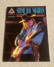 Stevie Ray Vaughan Lightnin Blues 1983-1987 Guitar Tablature Book  Hal Leonard