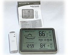 AcuRite 75077/75107 Weather Forecaster Wireless Weather Station Large Display