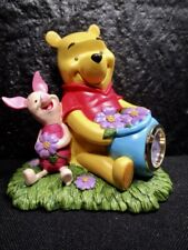 Disney Pooh & Friends Clock - Just For You Pooh - Figurine In Box