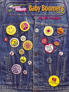 Baby Boomers Songbook Sheet Music E-Z Play Today Book NEW 000100123