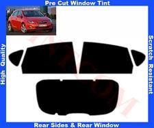 Pre Cut Window Tint Opel Astra J 5D 2010-2014 Rear Window & Rear Sides Any Shade