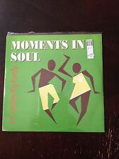 """J.T. And The Big Family-Moments In Soul-12"""" Single-45 RPM-Shrink Wrap - VG+"""