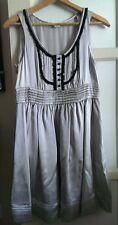 Kensie Satin Silver  Dress Size 12