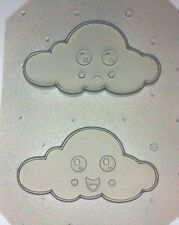 Flexible Resin Or Chocolate Mold Kawaii Clouds