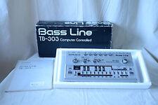 Roland TB-303 TB303 Bass Line Vintage Analog Synthesizer overhauled!! w/ box