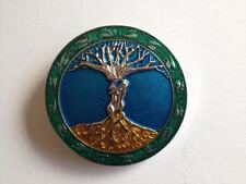 "BELT BUCKLE - ""TREE OF LIFE"" COLOURFUL FINISH TO SUIT 1.5"" SNAP ON BELT"