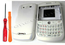 Fascia Housing Battery Cover Keypad For Blackberry Curve 8900 White + Tools