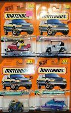 Matchbox recreational vehicles lot  Watercraft, 4-Wheeler, Snowmobile, Golf Cart