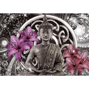 Buddha VLIES FOTO WANDTAPETE - XXL DEKORATION RUNA  9108aP