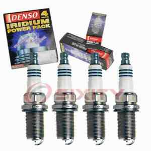4 pc Denso 5344 Iridium Power Spark Plugs for 004 159 13 03 004 159 23 03 kj