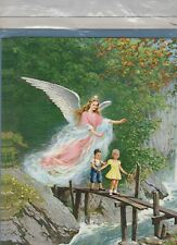 GUARDIAN ANGEL 3D Decoupage Craft Kit  8x10