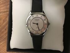 Ladies Rotary Swiss Made Chrystal set Watch  LB08000/02 RRP £195