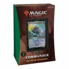 MAGIC THE GATHERING Strixhaven School of Mages Commander Deck QUANTUM QUANDRIX