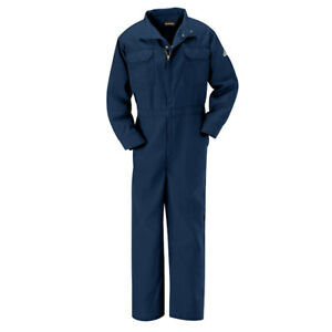 Bulwark Flame Resistant Clothes FR Coverall Nomex Lightweight Work Uniform