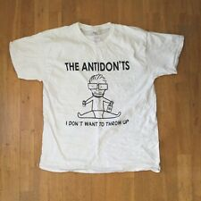 Vintage 2015 The Antidon'ts Shirt L - Descendents Milo Goes To College Homage