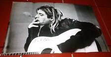 Kurt Cobain Smoking Original Nirvana Poster 2012