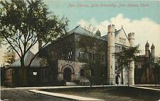 1907-1915 Vintage Postcard; New Library, Yale University, New Haven Ct Unposted