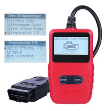 OBDII/EOBD Trouble Code Diagnostic Scanner with Dictionary for DTCs Lookup