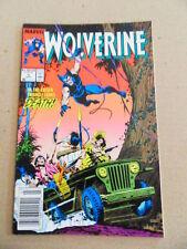 Wolverine 5 . Marvel . 1989 -    VF - minus