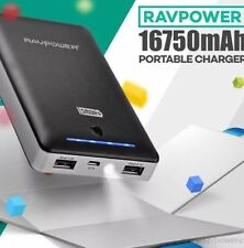 RAVPower AUST FACTORY DIRECT FULL WARRANTY 16750mAh Portable Battery Charger