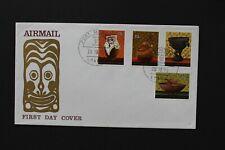 PAPUA NEW GUINEA 1970 FDC Native artifacts