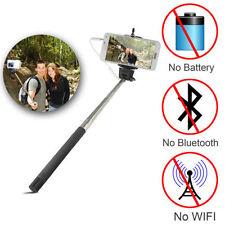 Mono-pied Bâton De Selfie Téléscopique Câble Encastré Télécommande Bluetooth