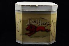 Vintage Antique Hat Box- Lion Hats Box Only