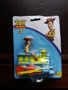 Disney Pixar Toy Story 3 Push & Go Woody on the Train still sealed pack