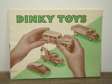 Catalogue Dinky Toys 1952 - 5/452/15 Rare Dutch Issue *37683