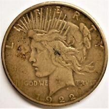 monnaie One Dollar 1922