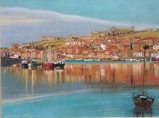 Whitby Harbour Watercolour Edward Nolan