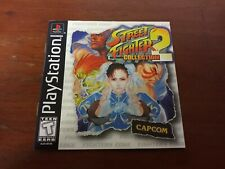 Street Fighter Collection 2 MANUAL ONLY NO GAME PS1