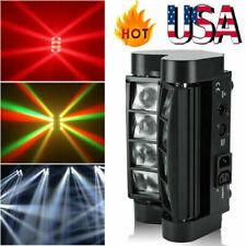 80W Rgbw 8Led Spider Moving Head Stage Lighting Beam Dmx Disco Party Dj Light Us