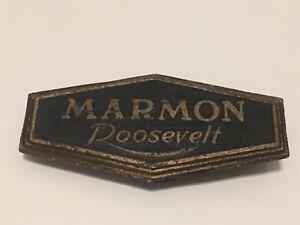 Original Antique Marmon Roosevelt Emblem