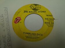 "The Rolling Stones Tumbling Dice / Sweet Black Angel 7"" 45 rpm Atco 1972 VG"
