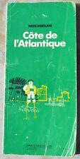Guide Vert Michelin Côte de l'Atlantique, 6e édition, 1973, bon état d'époque