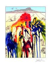 Diamond Head A Limited Edition Giclee Salvador Dali Art Print 18x14