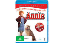 ANNIE Sing Along Edition 30th Anniversary Blu-ray FREE POST mmoetwil@hotmail.com