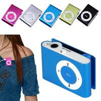 USB Mini Portable MP3 Music Player Clip Support 32GB Micro SD/TF Card Earphone