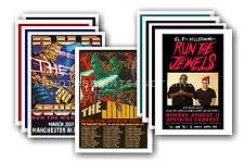 RUN THE JEWELS - 10 promotionnel affiches - de collection lot carte postale # 1