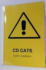 Audio Development CD CATS System Installation Manual 12/23/1998